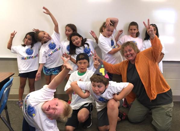 ExoExplorers Biology Camp MathWizard Class