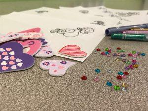 Valentine's Day Cards Craft Supplies