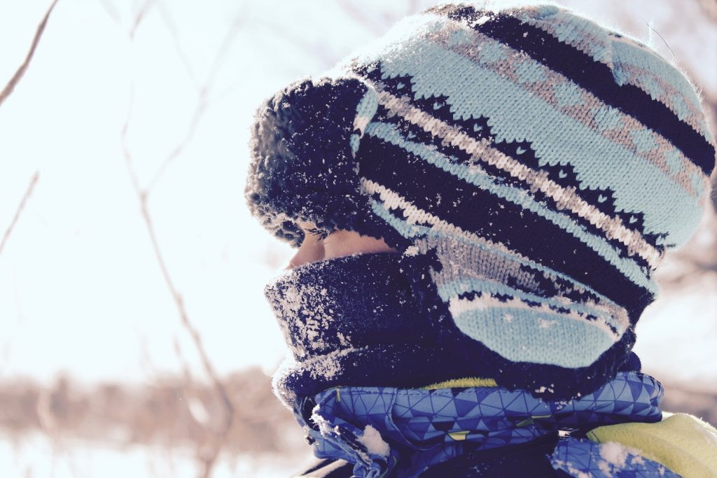 Keeping Your Child Warm on the Bus or bus stop